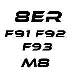8er F91 F92 F93 M8