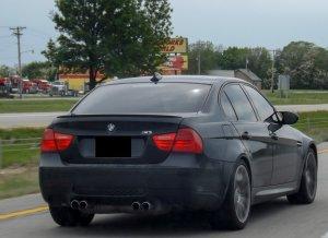 Cstar Gfk Heckspoiler schmal passend für BMW E90 +M3