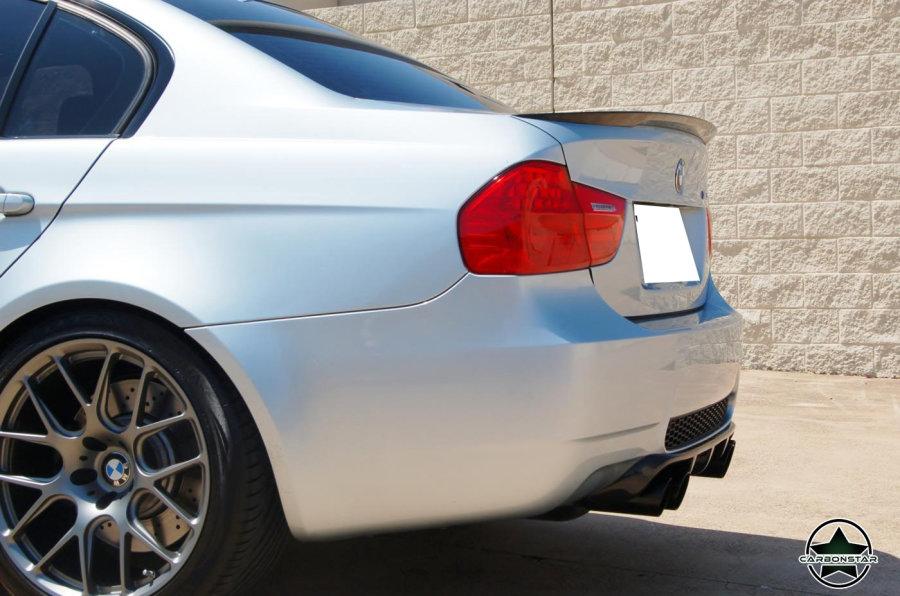 Cstar Heckspoiler Carbon Gfk High Kick Performance passend für BMW E90 +M3