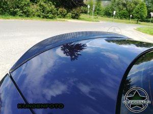 Cstar Carbon Gfk Heckspoiler Performance passend für BMW E88 E82 + 1M