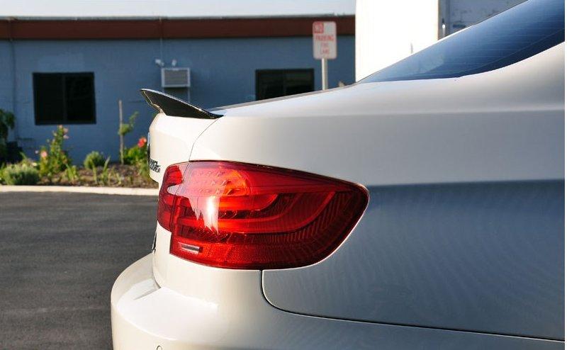 Cstar Heckspoiler Carbon Gfk High Kick Performance passend für BMW E92 + M3