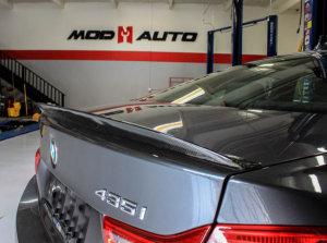 Cstar Heckspoiler Carbon Gfk Performance passend für BMW F32