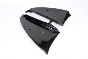 Cstar Carbon Gfk Flaps Splitter Frontlippe passend für BMW E81 E87 M Paket 05-2010