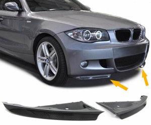 Cstar Flaps Splitter FRP passend für BMW E81 E87 M Paket  05-2010
