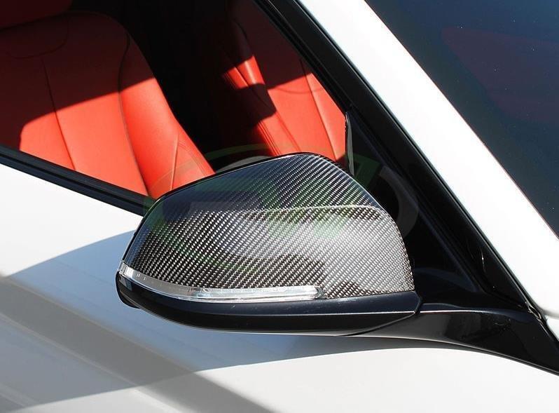 Cstar Carbon ABS Spiegelkappen passend für BMW F22...
