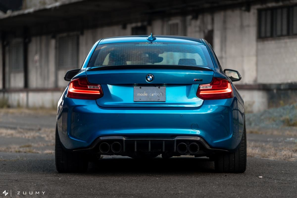 modecarbon Carbon Heckdiffusor Trophy Diffusor passend für BMW M2 F87 + Competition
