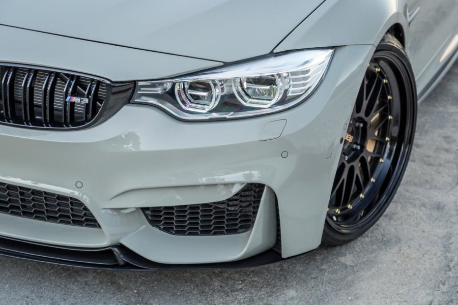 modecarbon Carbon Trophy S1 Frontlippe Splitter Flaps...