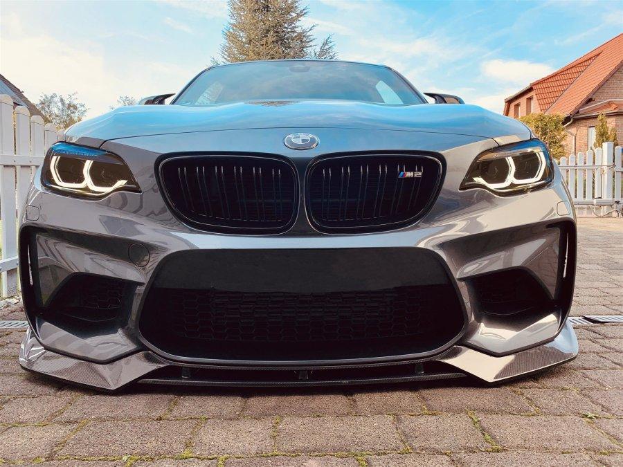 Cstar Carbon Gfk Frontlippe V-Style - Flaps, Splitter...