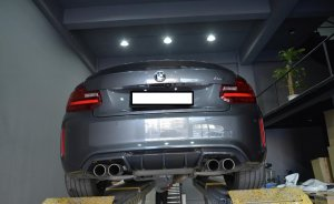 Cstar Carbon Gfk Heckdiffusor V1 ähnlich Performance passend für BMW M2 F87
