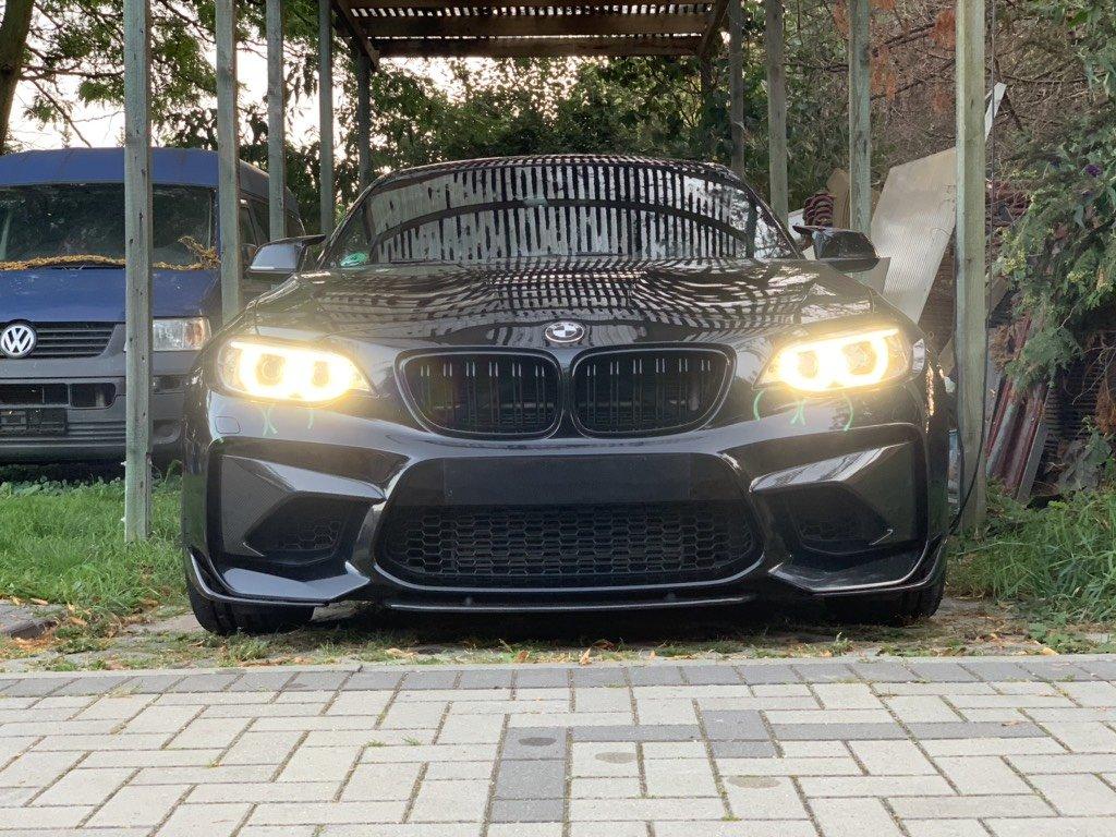 Cstar Carbon Gfk Wings Flügel Splitter Vorne passend für BMW M2 F87