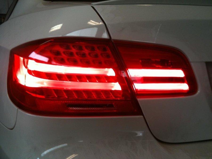 Depo Umbau LED Rückleuchten LCI Red Rot Smoke...