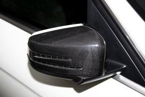 Cstar Carbon ABS Spiegelkappen Cover Spiegel Abdeckung für Mercedes Benz W176 A45 AMG