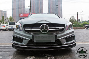 Cstar Carbon Gfk Frontlippe Spoiler Front Lippe für Mercedes Benz W176 A45 AMG