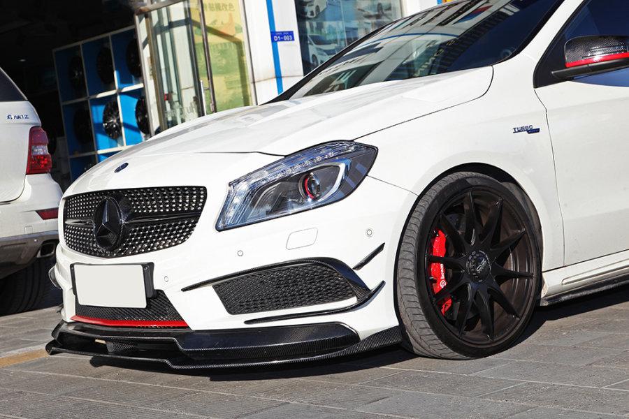 Cstar Carbon Gfk Frontlippe Lippe 2tlg. für Mercedes...
