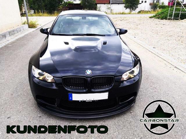 Cstar CARBON Gfk FRONTLIPPE SPOILER LIPPE GTS passend für BMW E90 E92 E93 M3 CRT