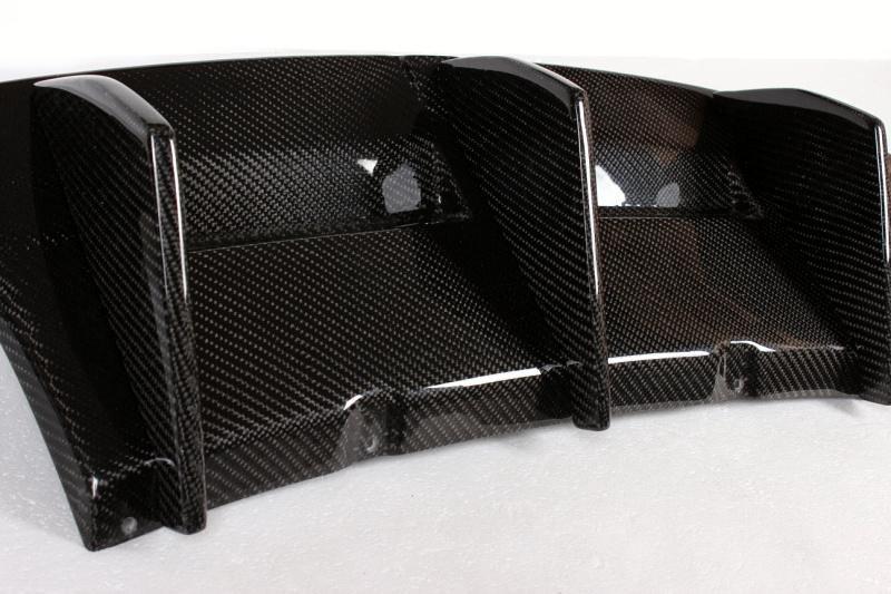Cstar Carbon Gfk Heckdiffusor Diffusor Auspuff Einsatz Typ1 passend für BMW E82 1M