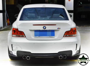 Cstar Carbon Gfk Canards Wings Seitenschweller Hinten passend für BMW E82 1M
