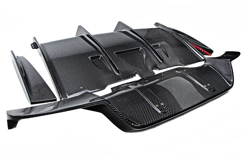Cstar Carbon Gfk Heckdiffusor Diffusor PSM BIG passend für BMW M6 F06 F12 F13