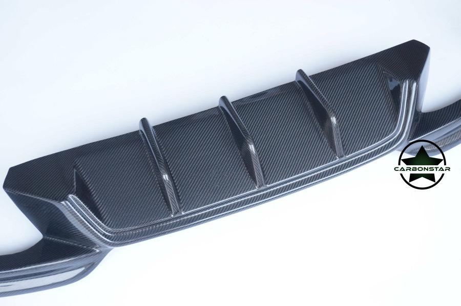 Cstar Carbon Heckdiffusor passend für F06 F12 F13 mit M-Paket +M6