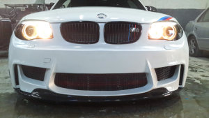 Cstar FRP Frontlippe Frontspoiler Frontansatz GTS Easy passend für BMW E82 1M