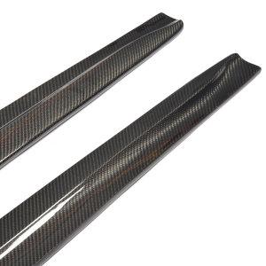 Cstar Carbon Gfk Seitenschweller Extensions Erweiterung passend für BMW E82 1M