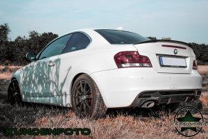 Cstar Carbon Gfk Performance Heckdiffusor Diffusor V1 passend  für BMW E82 E88 M Paket