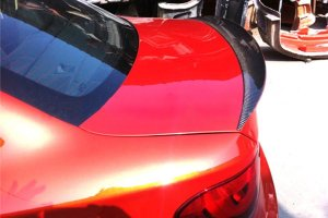 Cstar Carbon Gfk Heckspoiler Kofferraum Lippe Revozsport passend für BMW E82 E88 1M