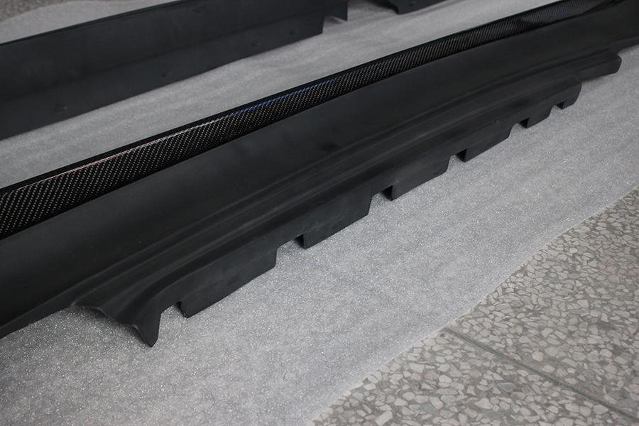 Cstar CARBON Gfk Seitenschweller EROS Design passend für BMW E82 E88 1M