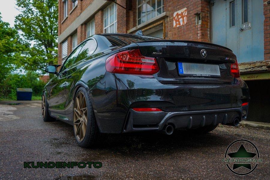 Cstar Carbon Gfk Heckdiffusor V1 passend für BMW F22...