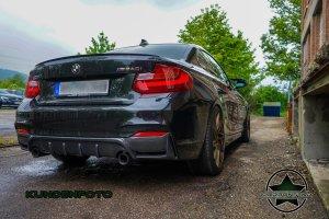 Cstar Carbon Gfk Heckdiffusor V1 passend für BMW F22 F23 M Paket 235i 240i