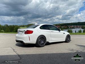 Cstar Carbon Gfk Heckdiffusor Diffusor Große Finnen Performance passend für BMW M2 F87 + Competition