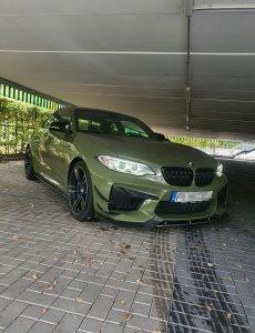 Cstar Carbon Gfk Wings Canards Diffusor Fins passend für BMW M2 F87