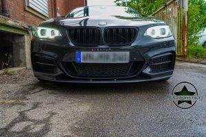 Cstar Carbon Gfk Frontlippe Performance T2 passend für BMW F22 F23  mit M Paket