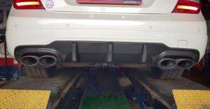 Cstar Carbon Gfk Heckdiffusor DTM V2 passend für Mercedes Benz W204 C204 AMG C63 Coupe Limo MOPF