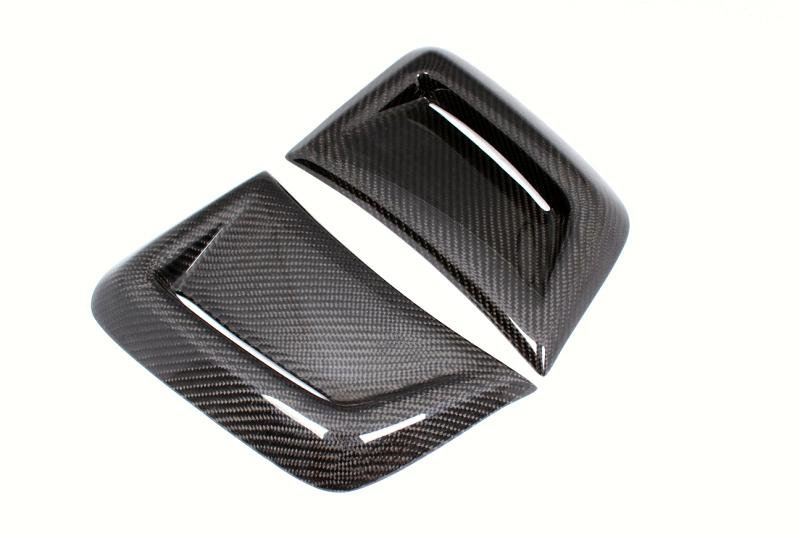 Carbon Gfk Abdeckung Frontschürze Lufteinlässe für Mercedes Benz W204 C204 C63 AMG Limo Coupe MOPF