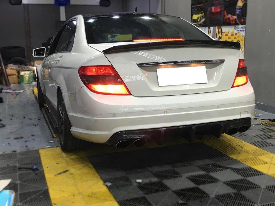 Cstar Carbon Gfk Diffusor Heckdiffusor für Mercedes...