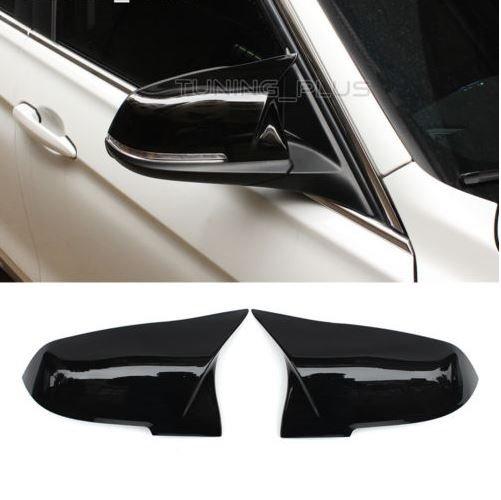 Cstar Spiegelkappen Abdeckung Spiegel Schwarz Hochglanz passend für F10 F11 F18  ab 2014 Facelift