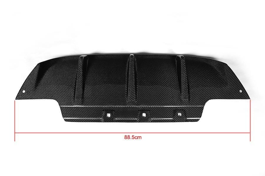Cstar Carbon Gfk Heckdiffusor Diffusor Einsatz Mittlere Teil passend für BMW M6 F06 F12 F13