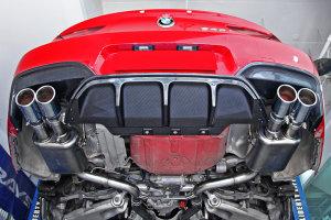 Cstar Carbon Gfk Heckdiffusor Diffusor Einsatz Obere Teil passend für BMW M6 F06 F12 F13