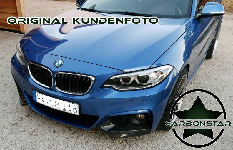 Cstar Carbon Gfk Flaps / Splitter  passend für BMW...