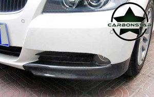 Cstar Carbon Gfk Flaps Splitter OEM Stoßstange passend für BMW E90 E91 05 - 08