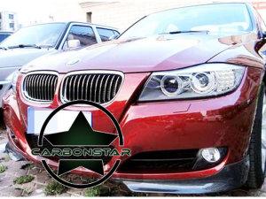 Cstar GFK Flaps Splitter OEM Stoßstange passend für BMW E90 E91 08 - 12 LCI