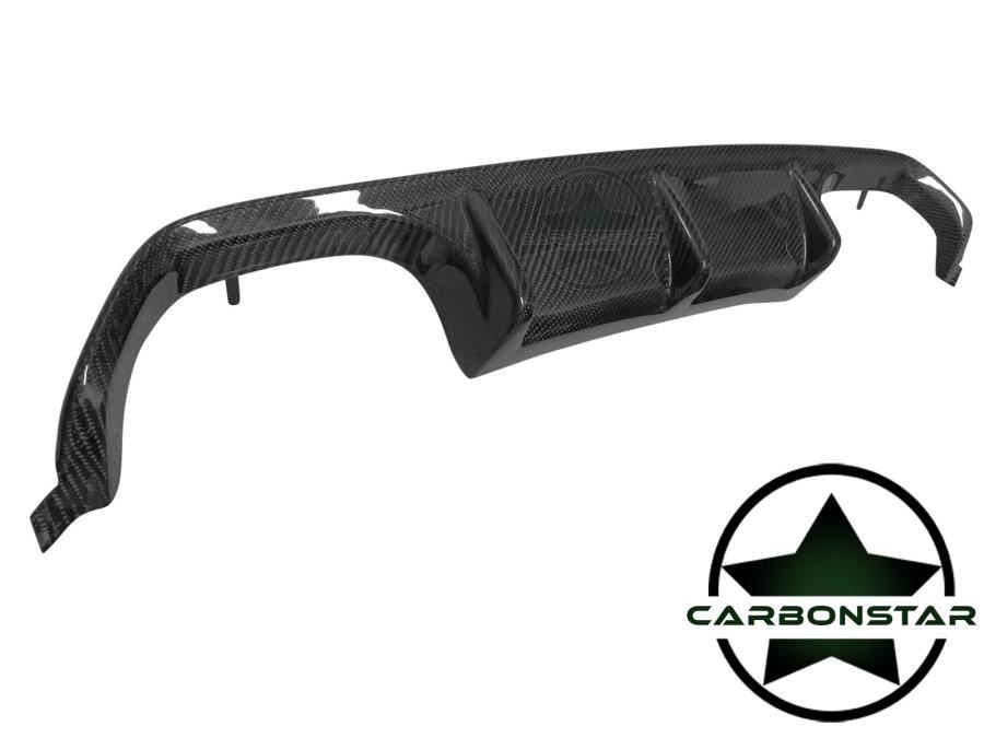 Cstar Carbon Gfk Heckdiffusor Diffusor Auspuff Einsatz Performance passend für BMW F80 M3 F82 F83 M4