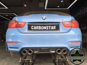 Cstar Carbon Gfk Heckdiffusor Diffusor AK Design passend für BMW F80 M3 F82 F83 M4