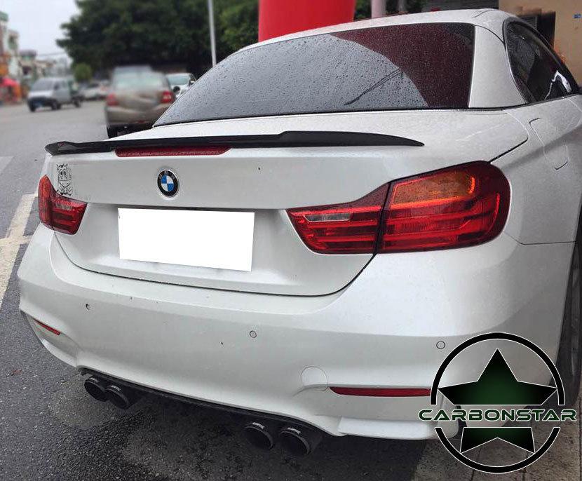 Cstar Carbon Gfk Heckspoiler V Style passend für BMW...
