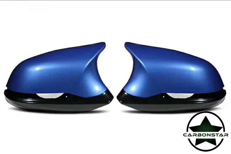 Cstar Spiegel Umbau-Set Estorilblau B45 Blau Hochglanz passend für BMW F20 F21 F22 F23 M2 F87 F30 F31 F34 F32 F33 F36 E84