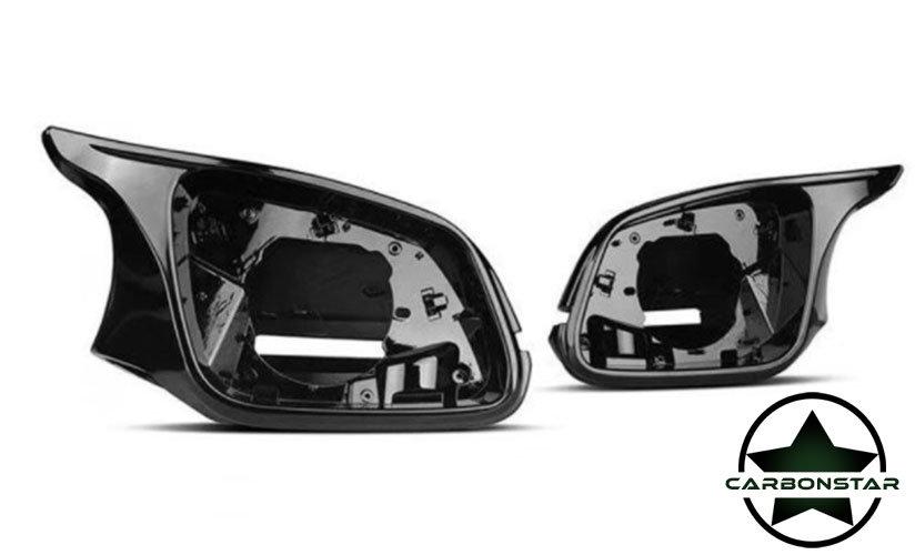 Cstar Spiegel Umbau-Set Alpinweiß Uni 300 Weiß Hochglanz passend für BMW F30 F31 F34
