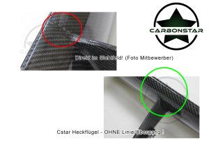 Cstar Carbon Gfk Heckflügel Motorsport Flügel passend für BMW E90 E92 M3 GTS  GT4 E82 1M TOP VERSION