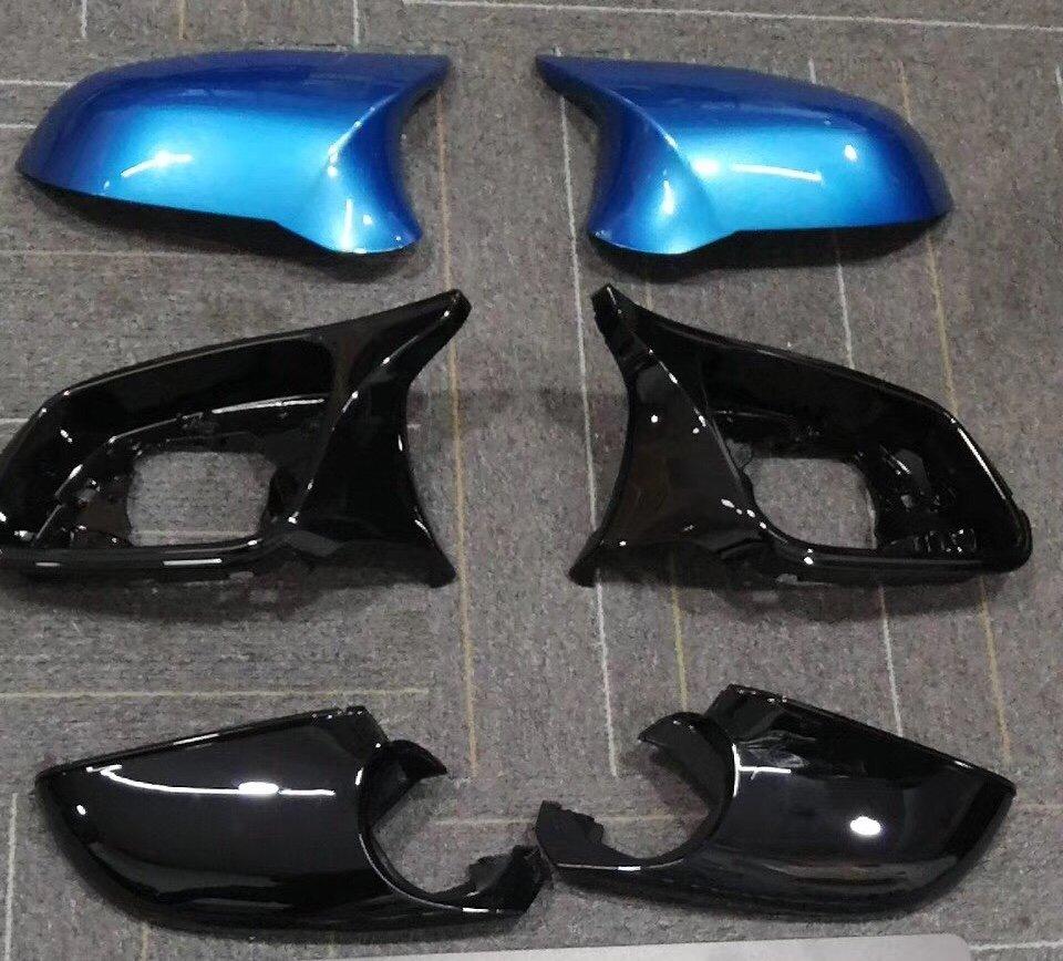 Cstar Spiegel Umbau-Set Long Beach Blue (C16) passend für BMW F20 F21 F22 F23 M2 F87 F30 F31 F34 F32 F33 F36 E84