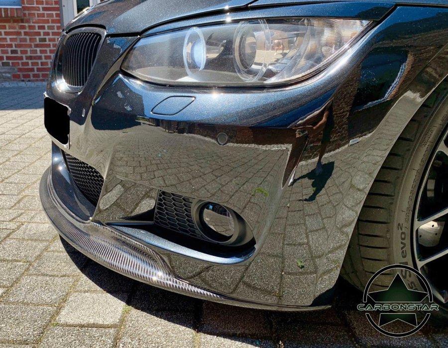 Cstar Frontlippe Carbon Gfk GT AK Style passend für BMW E92 E93 M Paket VFL